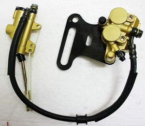 15mm Hydraulic Rear Disc Brake Caliper System 110 125c 140cc PIT PRO Dirt Bike