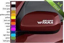 SUZUKI  GRAND VITARA car wing mirro body decals vinyl stickers (4 pieces)