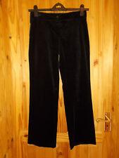 BORGOFIORI black stretch corduroy trousers jeans cords pants winter 10 38 Italy