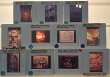 11 VICTOR HORTA Architecture 35mm Picture Slides of VARIOUS BUILDINGS & PROJECTS