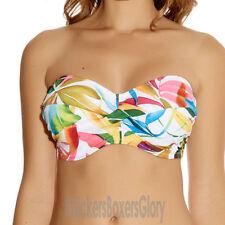Bandeau Polyester Bikini Tops for Women