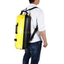 WATERPROOF OUTDOOR CANOEING TRAVELLING 30L DRY BAG SHOULDER BACKPACK POUCH P6I1