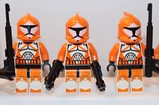 LEGO STAR WARS Minifigures: Lot of 3x BOMB SQUAD CLONE TROOPERS Minifigs Rebels