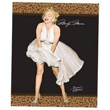 Original Marilyn Monroe Blanket Heavy throw queen Authentic royal plush Leopard