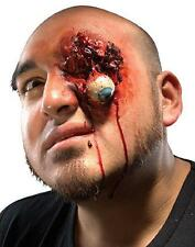 Pop Eye Poked Out Wound Dress Up Halloween Costume Makeup Latex Prosthetic