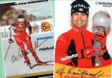 Ole Einar Björndalen-Win - 2 AK images (1) - 2 print copy + Ski AK