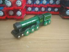 Wooden Flying Scotsman Brio, Take n Play Along, Thomas & Friends Tank Engine