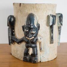 YORUBA . Nigeria . art africain . rare et authentique Odo Shango ..