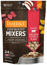 INSTINCT - Freeze-Dried Raw Boost Mixers Beef Recipe Dog Food Topper - 6oz/170g