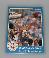 1984-85 Star kareem abdul jabbar record breaker career puntuación