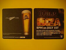 Beer Caster: Miller Brewing Co ~ It's Miller Time ~ Dublin To Ibiza 8 PM July 1
