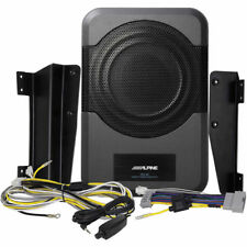 ALPINE PWE-S8-WRA Under Seat 240W Amplified Subwoofer for 2011-Up Jeep Wrangler