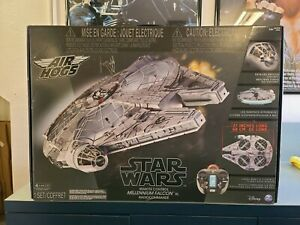 Air Hogs Star Wars 27'' MILLENIUM FALCON RC Flying Drone Spin Master Used