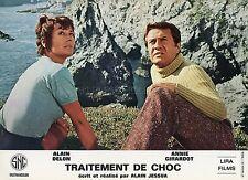 ANNIE GIRARDOT  ROBERT HIRSCH TRAITEMENT DE CHOC 1973 PHOTO D'EXPLOITATION #2