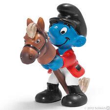 *NEW* Schleich 20743 SPORT SMURFS - Smurf Horse Rider - RETIRED