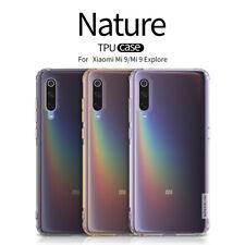 For Xiaomi Mi 9 / Mi 8 SE Nillkin Nature Soft TPU Transparent Clear Case Cover