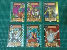 DRAGON BALL Z CARDDASS PART 33 PRISM 6 CARDS FULL SET
