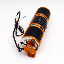 Bluetooth Motorcycle Audio Amplifier Stereo Waterproof Speaker MP3 USB/TF Trendy