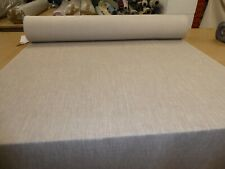 Job Lot - 10m of GREYish BEIGE - Linen Style Weave Upholstery / Curtain Fabric