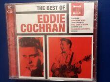 EDDIE.  COCHRAN.           BEST. OF. EDDIE  COCHRAN.         TWO DISC BOXSET