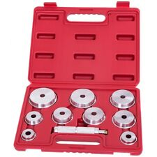10PCS Aluminum Wheel Bearing Race and Seal Driver Set Car Garage Tool Case Red