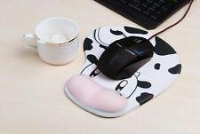 Cartoon Anime 3D Game Cow  Wrist Gel Rest Mice Mat PC Mac Laptop Mouse Pads Mats