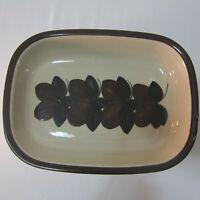 """11 1/2"""" Rectangle Serving Platter RUIJA Troubadour Arabia of Finland"""