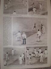 Photo article Australia England circket 5th test draw Sydney 1963 ref Z4