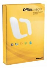 Microsoft Office 2008 Home and Student Edition for Mac Brand New Factory Sealed