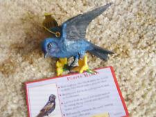 "Danbury Mint Song Birds ""Black-Throated Blue Warbler"""