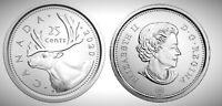 2020 Canada First Strike 25c Quarter BU UNC from RCM Mint Roll!!