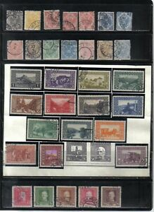 33 NICE OLDER USED BOSNIA AND HERZEGOVINA POSTAGE STAMPS 1900 - 1917