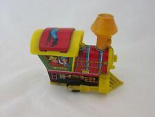 Blechspielzeug Yvone Lokomotive mechanisch gelb grün klein Western Lok 13529
