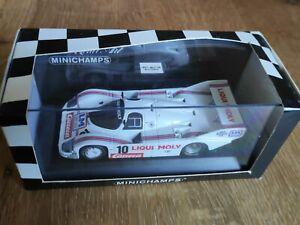 MINICHAMPS - 1/43 - PORSCHE 956 k - n° 10 - 1200 miles Norisring 1984 - Winner
