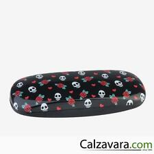 LEGAMI Mini Secret Box Porta Occhiali e Penne Medium - Piccoli Teschi Skull
