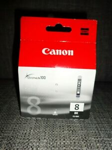 Canon ORIGINAL  CLI 8Bk Black Ink Cartridge new and sealed