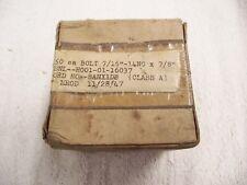 Vintage lot of 50 Bolt 7/16-14NC x 7/8 Class A Sealed Original Box 1947