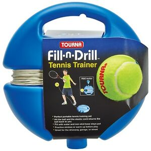 Tourna Fill-n-Drill Tennis Trainer, Training Aid