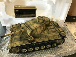 TAIGEN 1:16 RC German Panzer III Tank 2.4GHz - FIX ME - NEEDS Radio & Battery