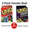 UNO Flip and UNO Card Game ( 2 PACK ) - US Seller - Ship Fast - Free Shipping