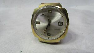 vintage FORTIS Tuxedo men's swiss automatic date 17J watch