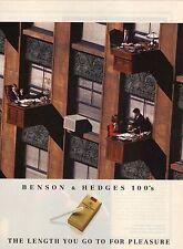 1994 Benson & Hedges 100's Cigarette Advertisement