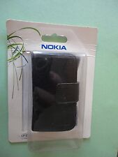 NOKIA-HOUSING -N96-ORIGINALE IN LEATHER CASE CP-293