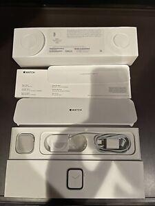 Apple Watch Series 4 40mm GPS + Cellular Silver Aluminum Case