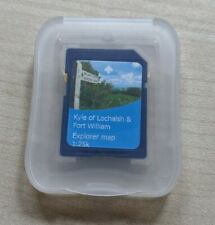 Satmap map cards, Kyle of Lochalsh and Fort William