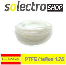 PTFE Teflon Tubo filamento 1.75mm ID 2/4mm 1m Impresora 3D REPRAP PRUSA I0067