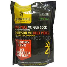 Browning VCI TWO Piece Shotgun Gun Rifle Sock Rust Corrosion Prevention Bag