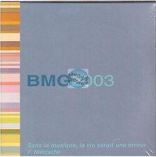 BMG 2003 compilation CD PROMO bruel voulzy elvis mariah carey him aguilera NEUF