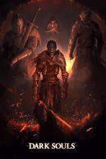 """Dark Souls Gaming Poster Art Print Large 24"""" x 36"""""""