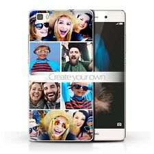 Create Your Own Custom Design Photo Personalised Hard Case for Huawei P8 Lite